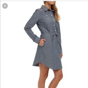 Patagonia Chambray Tunic Dress